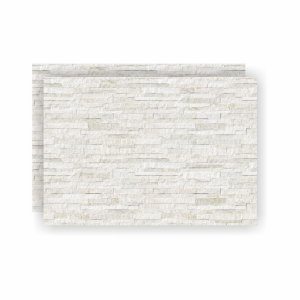 Porcelanato Filetado Branco 8186 Ceusa