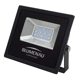Refletor Led Slim 10w 6000k 74106000 Blumenau