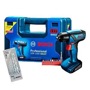 Furadeira/Parafusadeira Bateria GSR1000 Smart Bosch