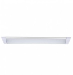 Luminária Led Slim 60x7,5 cm Alum+Polic 18W Blumenau