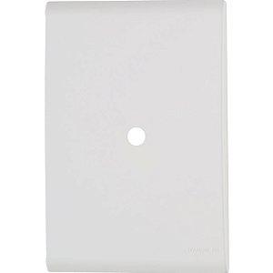 Placa com 1 Furo 9,5 mm 4x2 Liz Branca Tramontina
