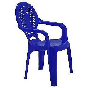 Cadeira Tramontina Infantil Catty em Polipropileno Azul Tramontina