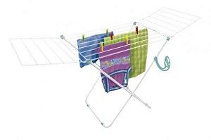 Varal de Chão com Abas Nápoles 1,48x49x85 Aço Secalux