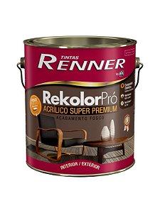 Tinta Rekolor Profissional Fosco 3,6L Branco Renner