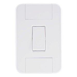 Conjunto 4X2 1 interruptor simples 10A 250V Tramontina