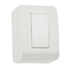 Conjunto caixa com 1 interruptor simples 10A 250V Tramontina