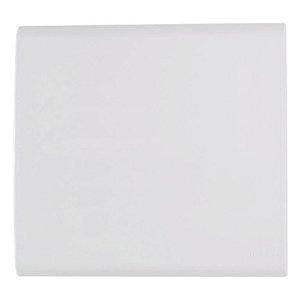 Placa Cega 4x4 Liz Branca Tramontina