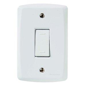 Conjunto 4X2 1 interruptor paralelo 10A 250V Tramontina