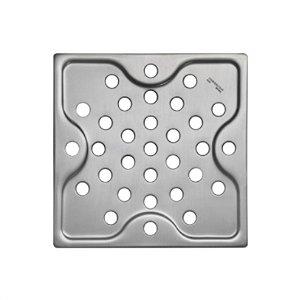 Ralo Quadrado em Aço Inox 10 cm Tramontina
