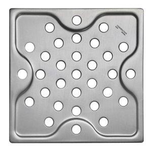 Ralo Quadrado em Aço Inox 15 cm Tramontina