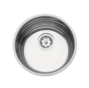 Cuba de embutir Luna 30 BL em Aço Inox Polido 30cm Tramontina