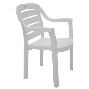 Cadeira Miami Branco Tramontina