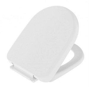 Assento Sanitário com Sistema Soft Close Carrara Branco Censi