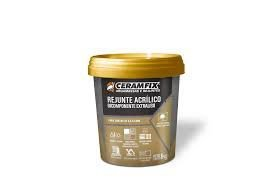 Rejunte Acrílico Bicomponente Extraliso Marrom Sucupira 1KG Ceramfix