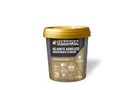 Rejunte Acrílico Bicomponente Extraliso Preto 1KG Ceramfix
