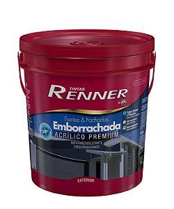 Tinta Emborrachada Super Premium 18 Litros Branco Fosco Renner