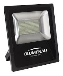 Refletor Led 100W 6000K Slim IP65 Blumenau