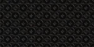 Caixa com 11 Peças Do Revestimento 30X60 Monaco Black Plus [2,03m] Angelgres
