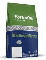 Rejunte Extra Fino Creme (Antigo Palha) 1KG Portokoll