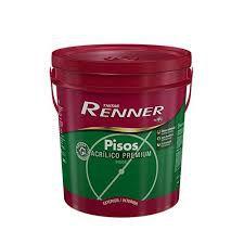 Tinta Pisos Fosco Cinza Grafite 18 Litros Renner