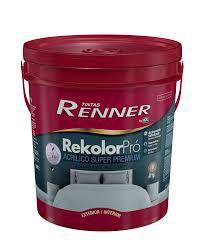 Tinta Rekolor Premium Acetinado Branco 18 Litros Renner