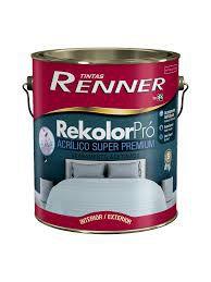 Tinta Rekolor Premium Acetinado Branco 3,6 Litros Renner