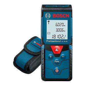 Trena a Laser 40MT GLM40 Com Bolsa Protec Bosch