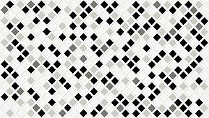 Caixa com 12 peças do Revestimento 33x60 Pastilha Black 53908 [2,43m] Embramaco