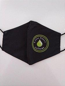 Máscara personalizada de tecido especial Canna Green Culture