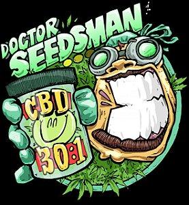Doctor Seedsman CBD 30: 1 Sementes Auto Feminizadas Pack c/ 5x