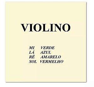 Encordoamento p/ Violino - MAURO CALIXTO