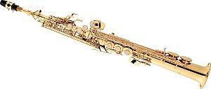 Saxofone Soprano Bb SP502 Laqueado Dourado- EAGLE