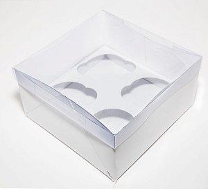 Caixa para 04 Cupcakes  c/10 unidades