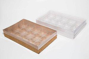 Caixa para 15 doces - Pacote c/20 unidades