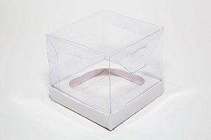 Caixa para Cupcake (8,5x8,5x8 cm) Pct c/20 unidades