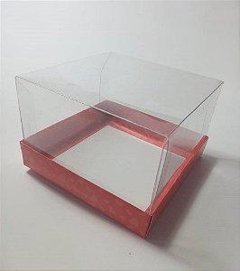 Caixa Para Mini Bolo Tamanho 12 x 12 x 8 cm c/ 20 unidades