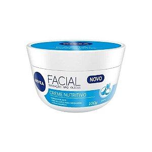 Creme Hidratante Facial Nivea Nutritivo 100g - Nivea