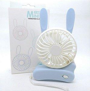 Mini Ventilador Coelhinho - Importado