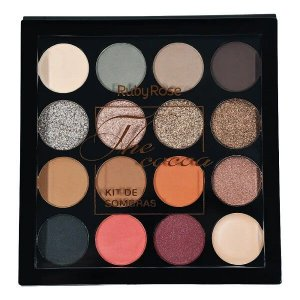 Paleta de Sombras The Cocoa 15 Cores - Ruby Rose