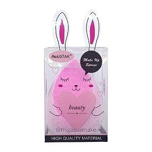 Esponja de Microfibra Chanfrada para Maquiagem - MeiUSTAR