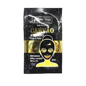 Máscara Facial Carvão Ativado Detox - Matto Verde