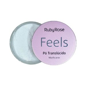 Pó Translúcido Matificante Feels - Ruby Rose