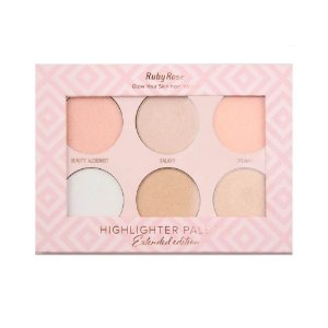 Paleta de Iluminador Highlighter Palette - Ruby Rose