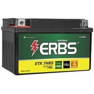 Bateria ERBS ETX-7HBS BURGMAN (PARA OUTRAS MOTOS CONSULTE-NOS )
