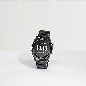 O THIKER I é um sofisticado relógio inteligente resistente à água, com bracelete em aço inox O THIKER I é um relógio com funcionalidades que lhe permitem ser um aliado para o dia-a-dia Fornecido em caixa presente