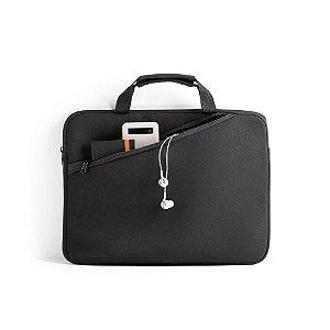 Pasta para Notebook Soft shell de alta densidade Para notebook até 14'' Com bolso frontal