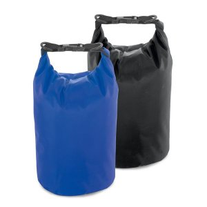 Sacola Tarpaulin Impermeável Com alça ajustável e capacidade de 3,5/5 L