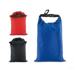 Sacola tarpaulin Impermeável Com mosquetão e capacidade de 1,5/2,5 L
