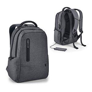Mochila para Notebook Nylon 2Tone impermeável c/ 2 compartimentos