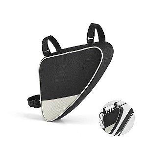 Bolsa para bicicleta 600D Com 3 fitas ajustáveis